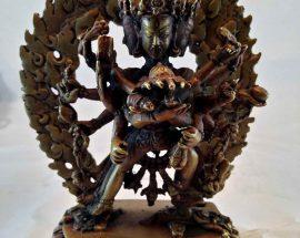 Chakrasamvara Statue