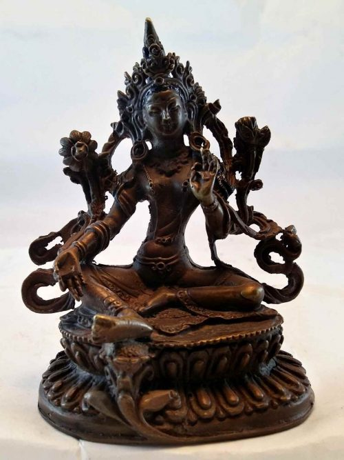 Small Green Tara Statue