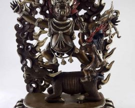 Yamantaka Statue Copper