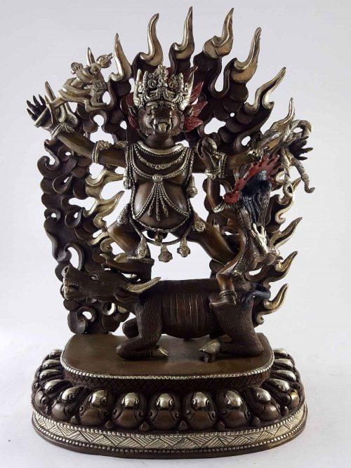 Yamantaka Statue Copper