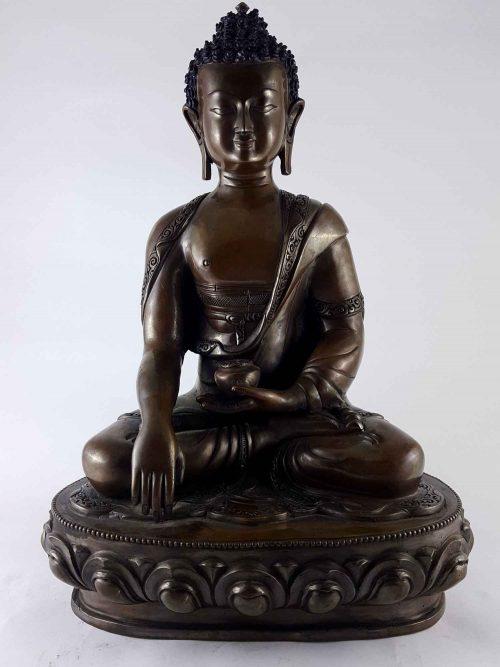 Shakyamuni Buddha Statue Copper