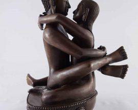 Yang Ying Reverse Samantabhadra Statue Unique Rare