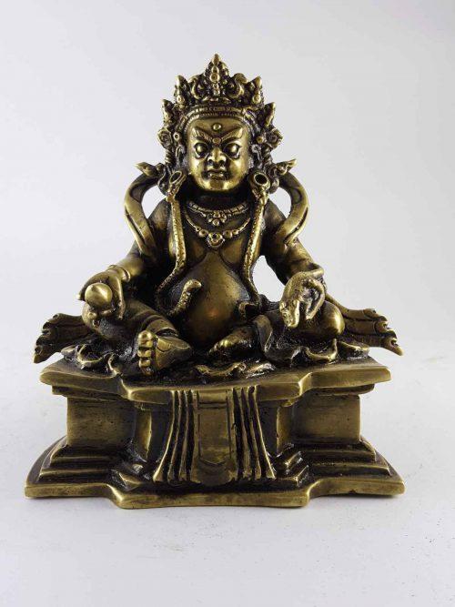 Brass Kuber Jambala statue