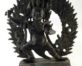 Copper Statue of Vajrapani