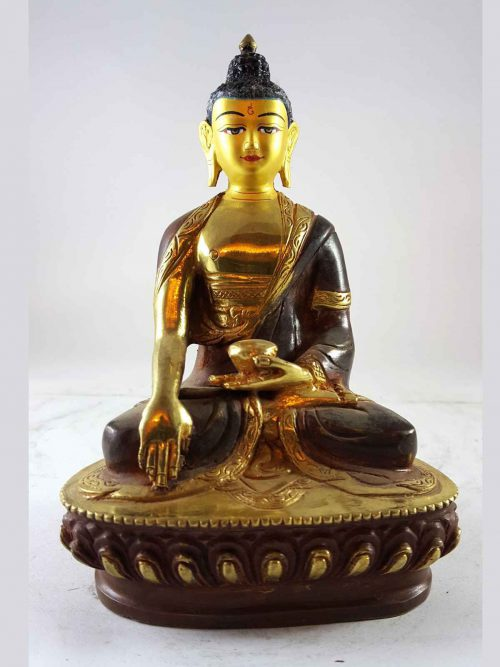 Statue of Shakyamuni Buddha Painted Face