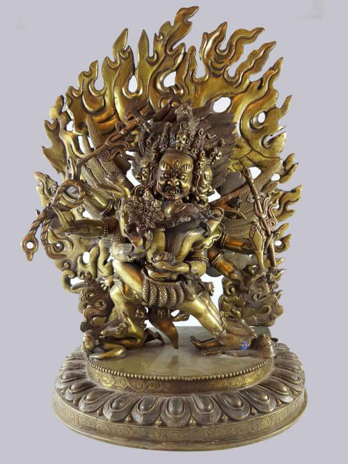 Statue of Hayagriva Bronze finishing