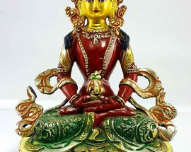 Aparmita Handmade Statue Thangka Color finishing