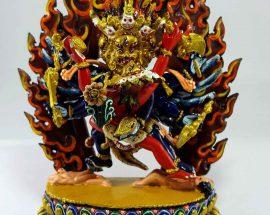 Haygriva Handmade Statue Thangka Color finishing