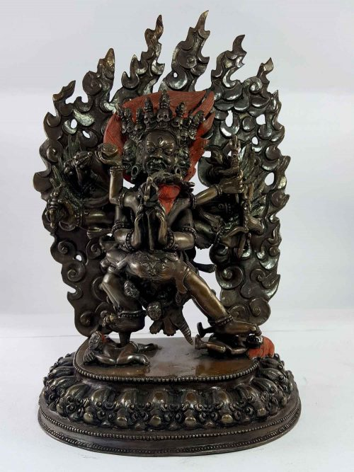 Statue of Vajrakaillaya Copper