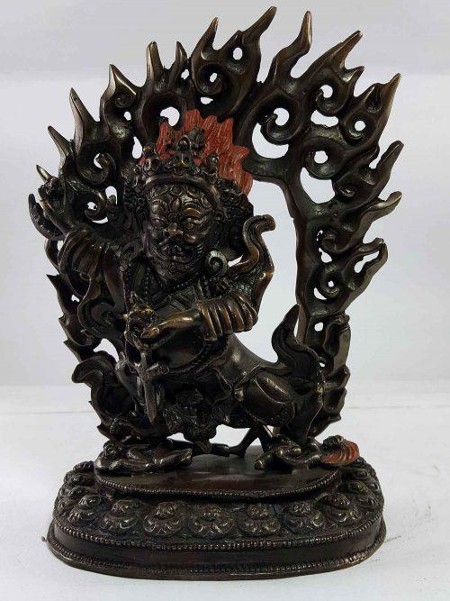 Statue of Kaju Mahakala Copper