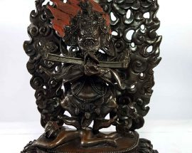 Statue of Sapu Mahakala Copper