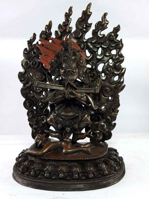 Statue of Sapu Mahakala Copper