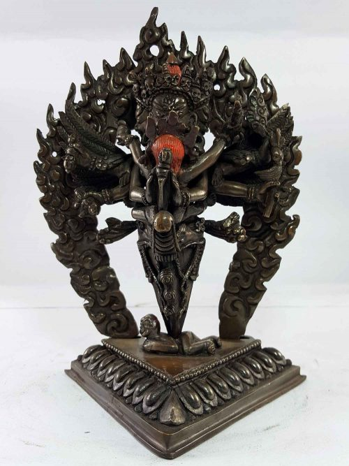 Statue of Phurba Mahakala Copper