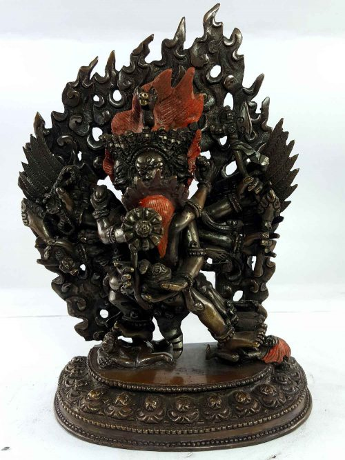 Statue of Hayagriva Copper