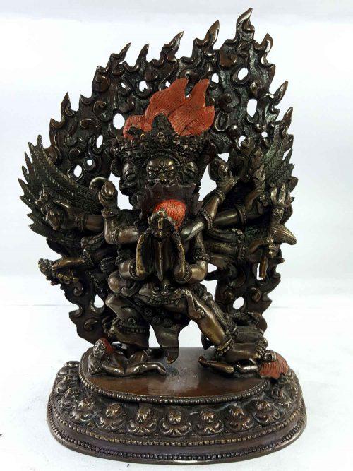 Statue of Vajrakilaya Copper