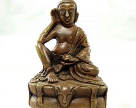 Milarespa Copper Miniature Statue