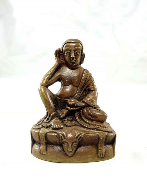 Milarespa Copper Miniature Statue