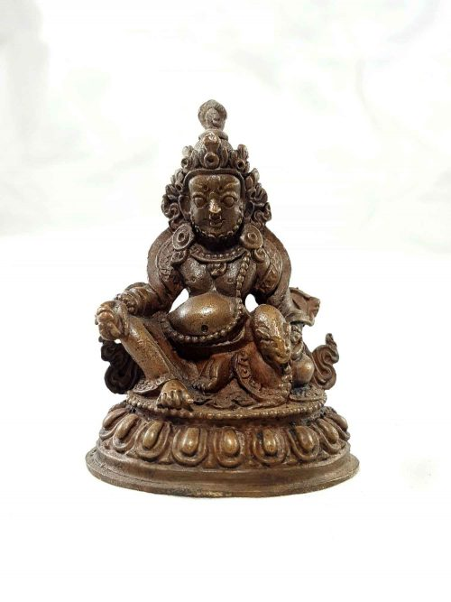 Jambala Copper Miniature Statue