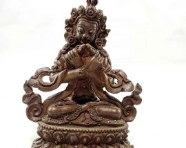 Vajradhara Copper Miniature Statue
