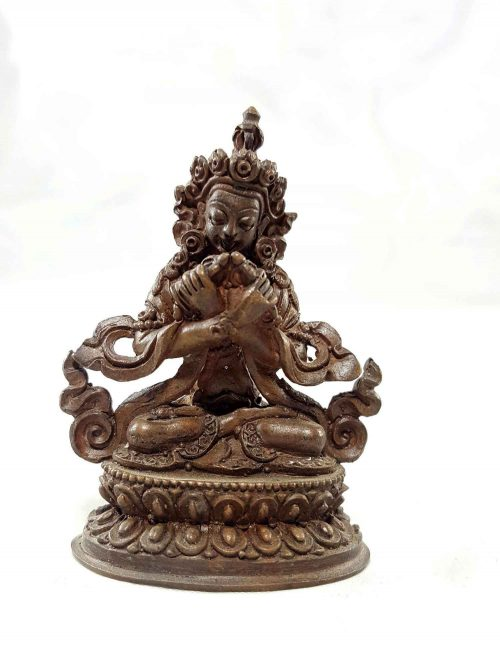 Vajradhara Copper Miniature Statue