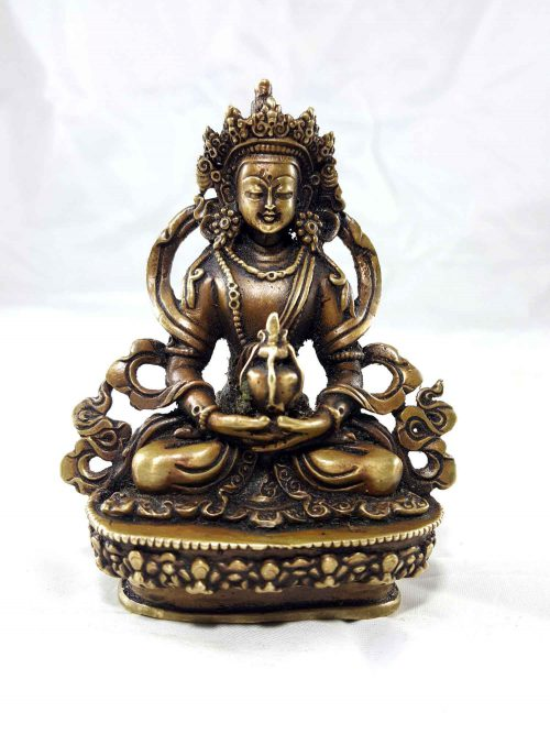 Aparmita Copper Miniature Statue