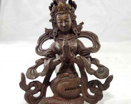 Nagakanya Copper Miniature Statue