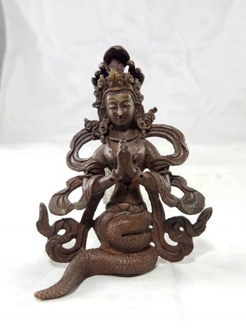 Nagakanya Copper Miniature Statue