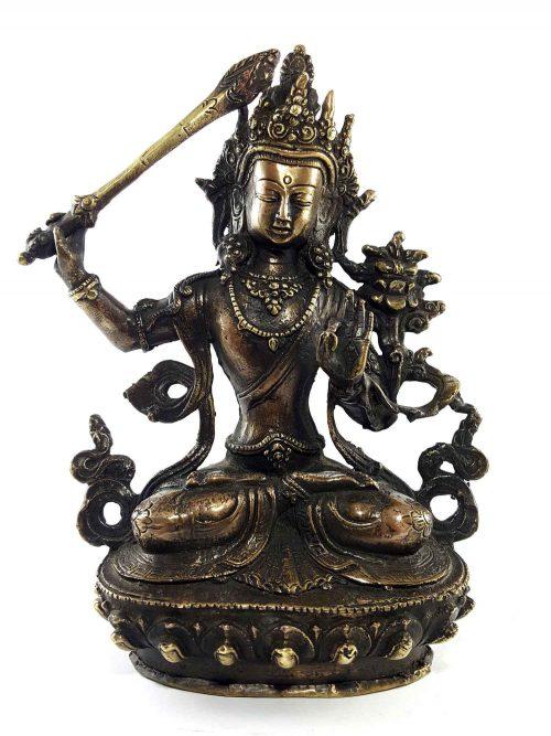 Brass Manjushree Statue