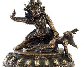 Brass Bhimsen Statue