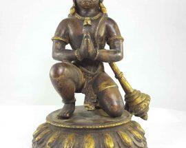 Copper Statue of Hanuman
