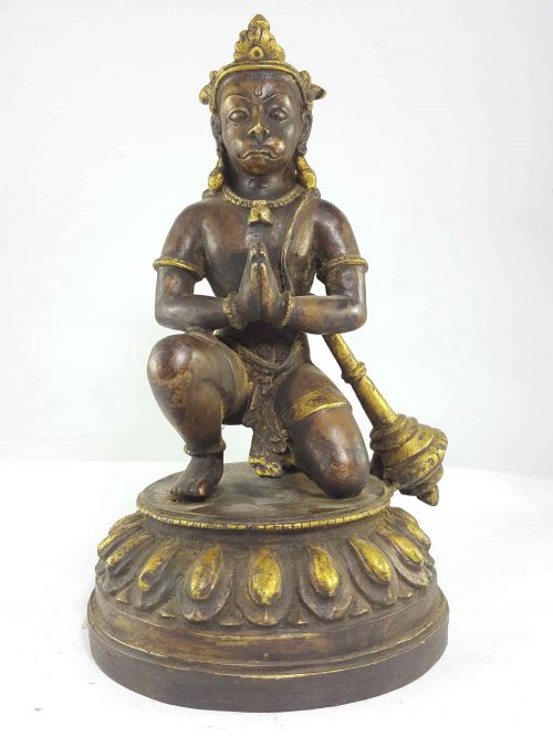 Copper Statue of Hanuman
