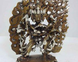 Copper Statue of Chakrasambara