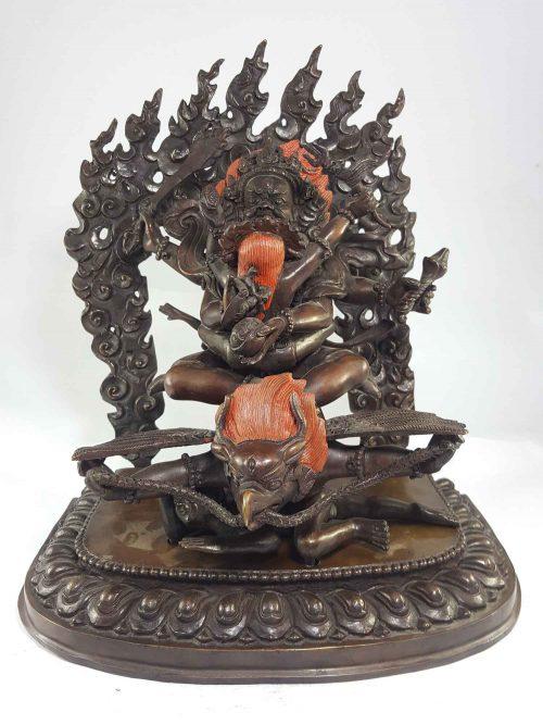 Statue of Gyalpo Marutse