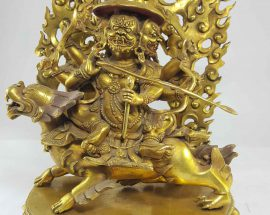 Copper Statue Gyalpo Pehar