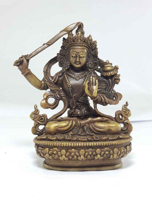 Small statue of Manjushree