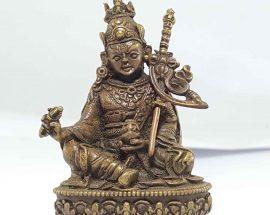 Small statue of Padmasambhava