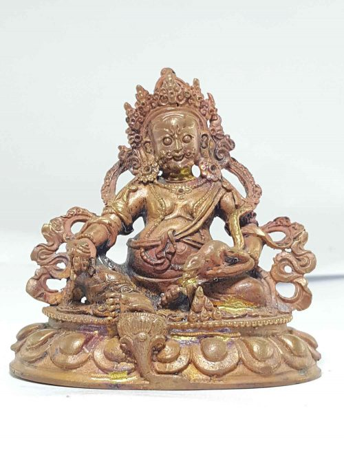 Small statue of Yellow Jambhala