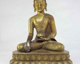 Shakyamuni Buddha Tibetan Statue