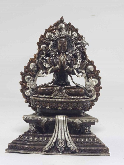 Avalokiteshvara Chenrezig Kharcheri Tibetan Statue