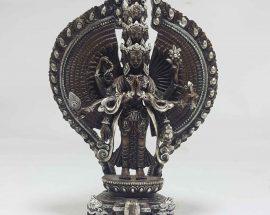 Sahasrabhuja Avalokitesvara Tibetan Statue