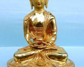 Amitabha Buddha Handmade Statue