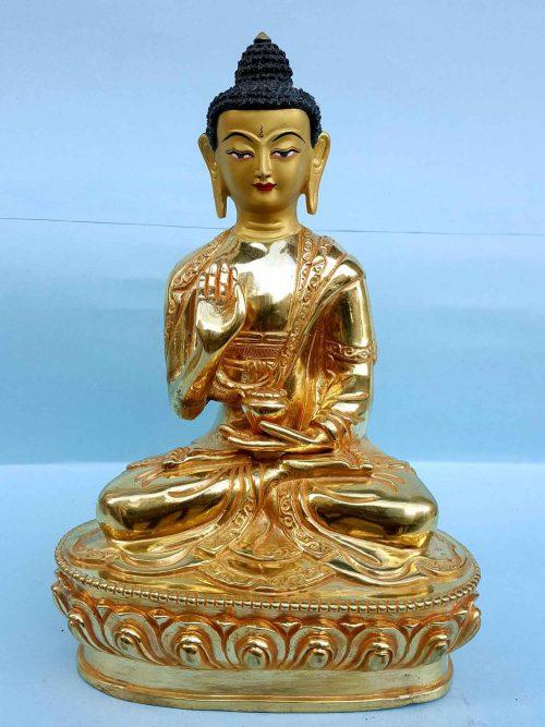 Amoghassiddhi Buddha Handmade Statue