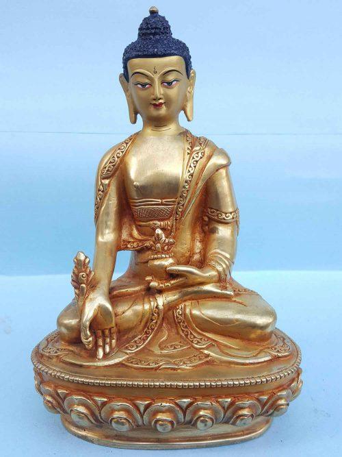 Medicine Buddha Handmade Statue