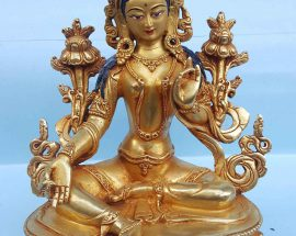 Green Tara Handmade Statue