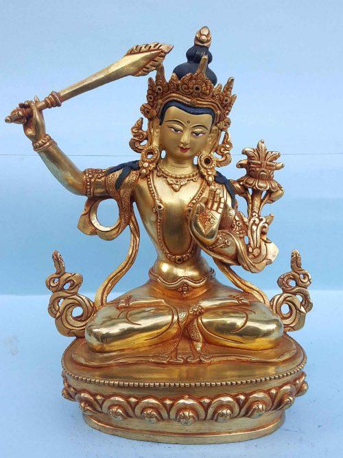 Manjushree Handmade Statue