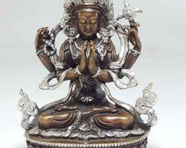 Statue of Chengrezig