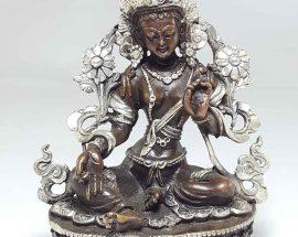 Statue of Green Tara