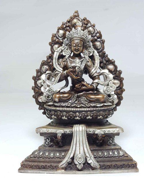 Statue of Vajrasattva On A Throne