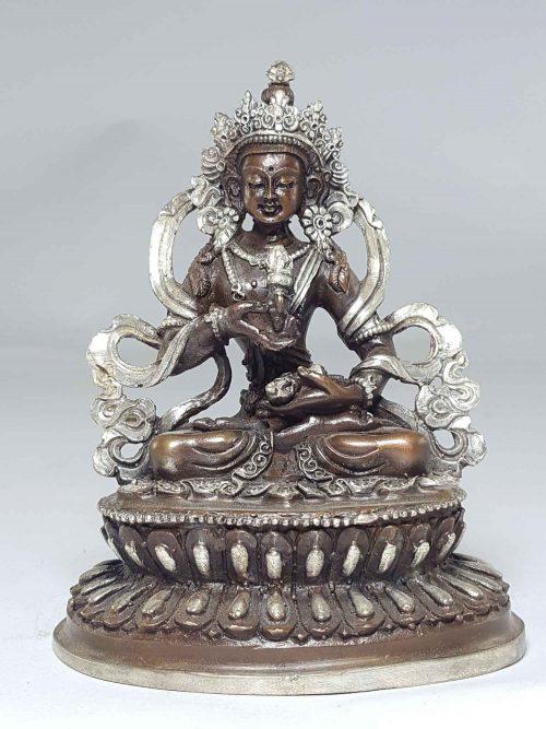 Statue of Vajrasattav with Double Lotus Base