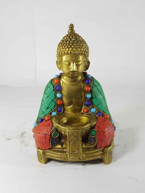 Buddha Statue Sand Casting Stone Setting